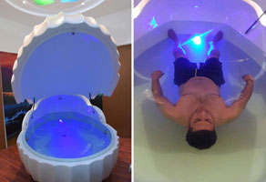shalom float and wellness : floatation therapy